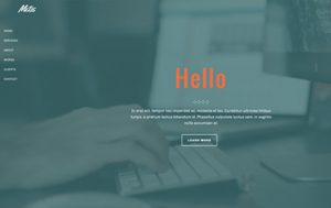 Metis Template - Jupiter Business WordPress Theme