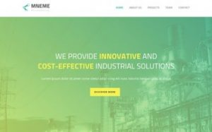 Mneme Template - Jupiter Business WordPress Theme